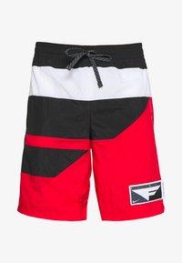 university red/black/white
