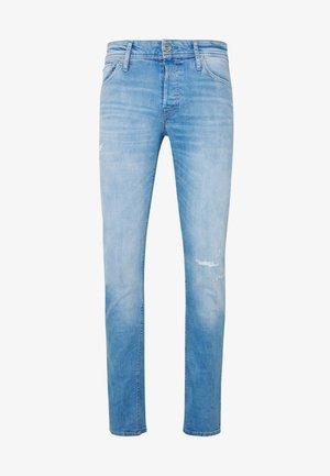 JJIGLENN JJORG JOS LID - Slim fit jeans - blue denim