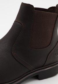 Timberland - STORMBUCKS CHELSEA - Classic ankle boots - dark brown - 5