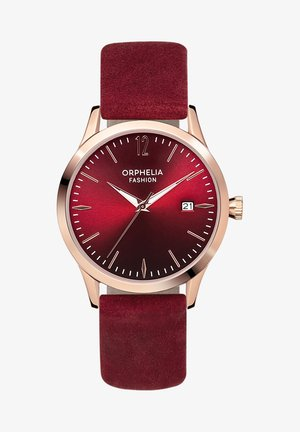 Watch - burgundy
