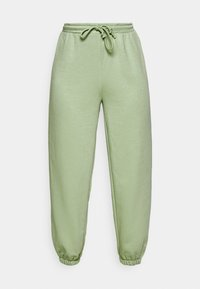 NA-KD - DRAWSTRING  - Tracksuit bottoms - green - 3