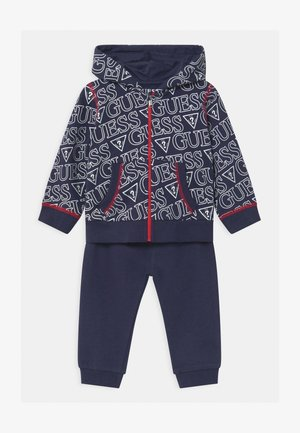 HOODED ACTIVE BABY SET  - Tracksuit - dark blue