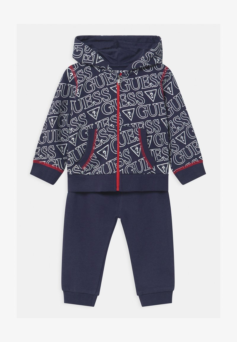 Guess - HOODED ACTIVE BABY SET  - Trainingsanzug - dark blue