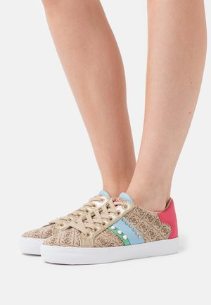 GRASEY - Sneakers basse - black pois/jungle