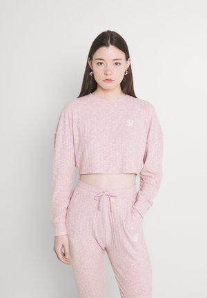 LOUNGE - Strikkegenser - pink