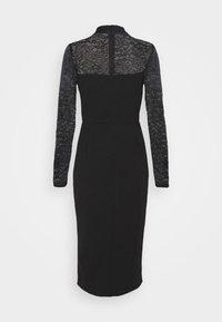 WAL G. - HIGH NECK DRESS - Cocktail dress / Party dress - black - 7