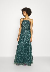 Maya Deluxe - ALL OVER EMBELLISHED CAMI DRESS - Occasion wear - deep teal - 0