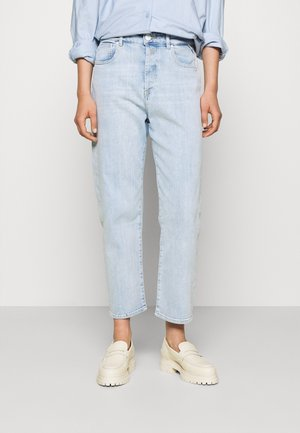 TYNA PANTS - Relaxed fit jeans - light blue