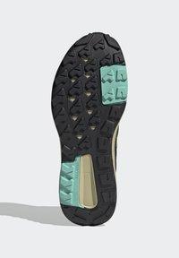 adidas Performance - TERREX TRAILMAKER BLUE HIKING SHOES - Fjellsko - wild moss/hi-res yellow/halo gold - 5