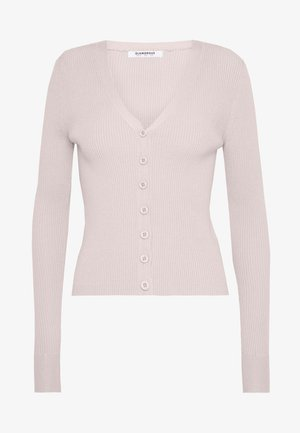 FINE CARDIGAN - Cardigan - light pink