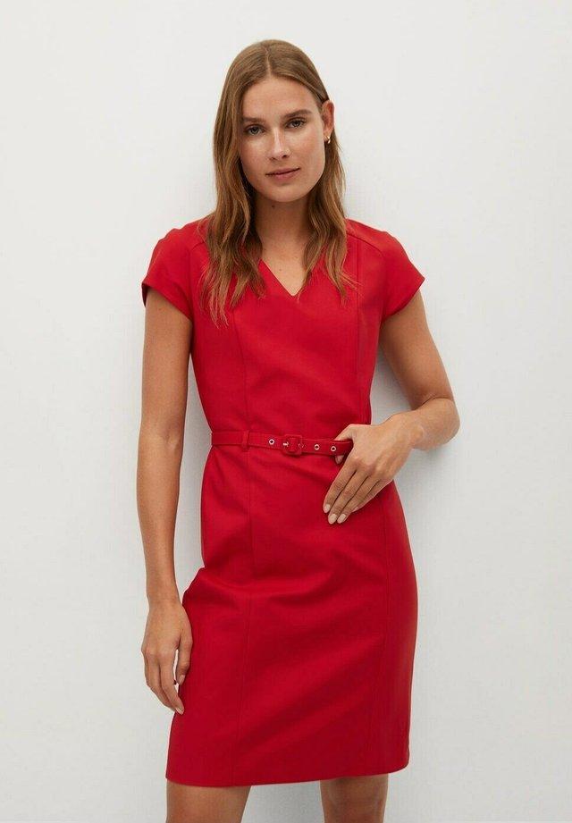 COFI7-N - Sukienka koktajlowa - rot