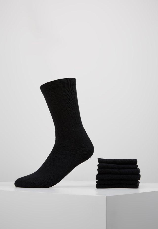 CLASSIC SPORT 6 PACK - Strumpor - black
