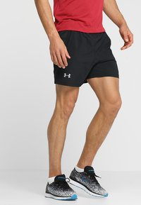 Under Armour - LAUNCH SHORT - Sports shorts - black - 0