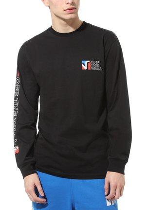 MN DIMENSIONS LS - Print T-shirt - black