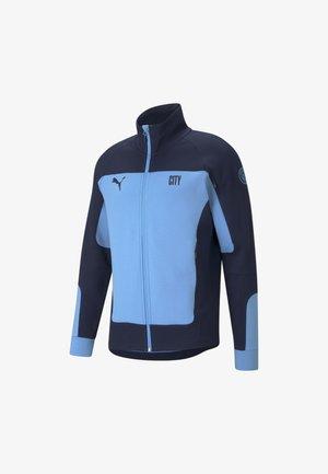 Sweatjakke - team light blue-peacoat