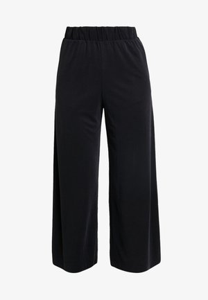 CILLA FANCY TROUSERS - Pantalones - black