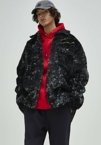 PULL&BEAR - Fleece jacket - black - 0