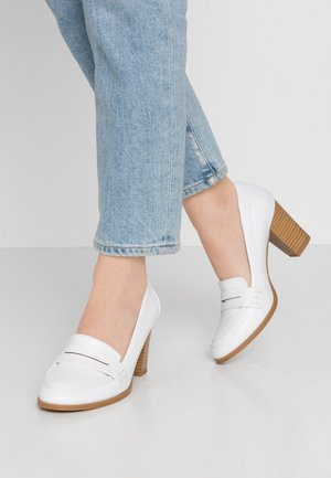 CHANNING - Classic heels - white