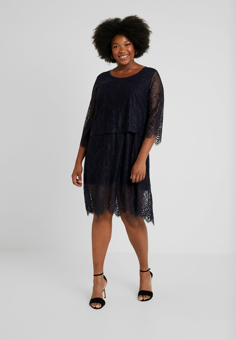 ADIA - DRESS - Cocktail dress / Party dress - dark navy