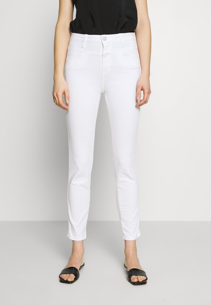 CLOSED - SKINNY PUSHER - Jeans Skinny Fit - white