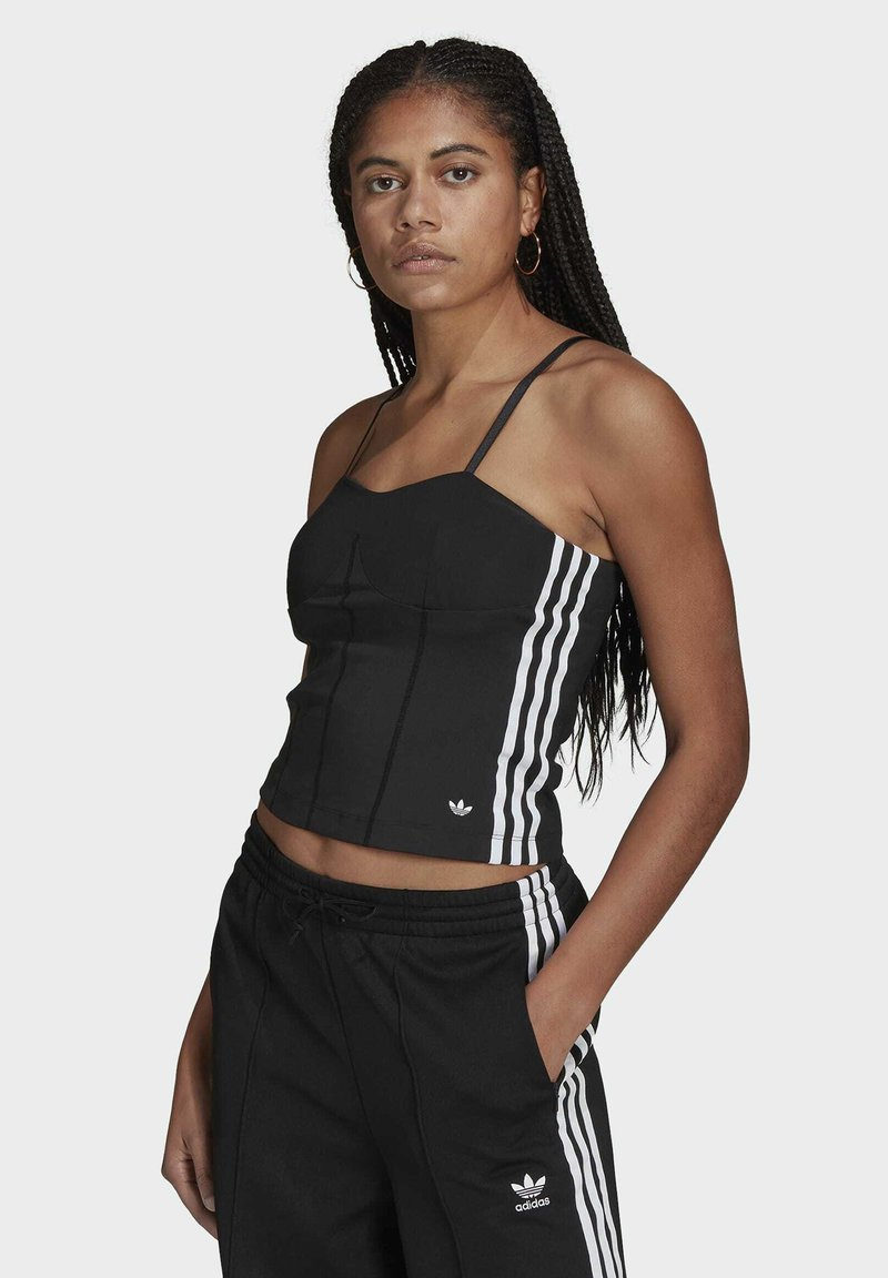 adidas Originals - CORSET - Top - black