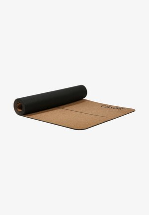 YOGA MAT NATURAL - Fitness/yoga - natural/black
