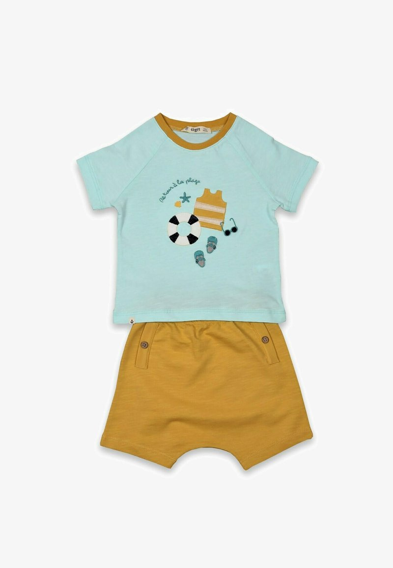 Cigit - SET - Shorts - light blue