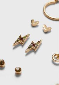 Stradivarius - Earrings - gold - 4