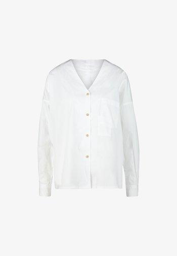 NAIDA - Button-down blouse - white