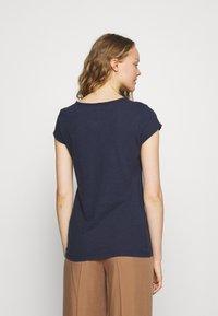 Mos Mosh - TROY TEE - Basic T-shirt - navy - 2