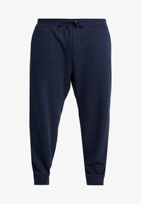 Polo Ralph Lauren Big & Tall - DOUBLE KNIT TECH - Pantaloni sportivi - aviator navy - 3