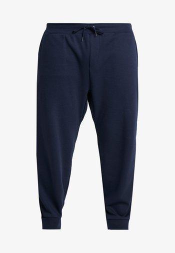 DOUBLE KNIT TECH - Teplákové kalhoty - aviator navy