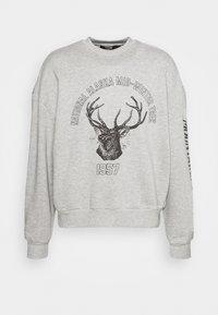 Jaded London - DEER GRAPHIC - Sweatshirt - grey marl - 4
