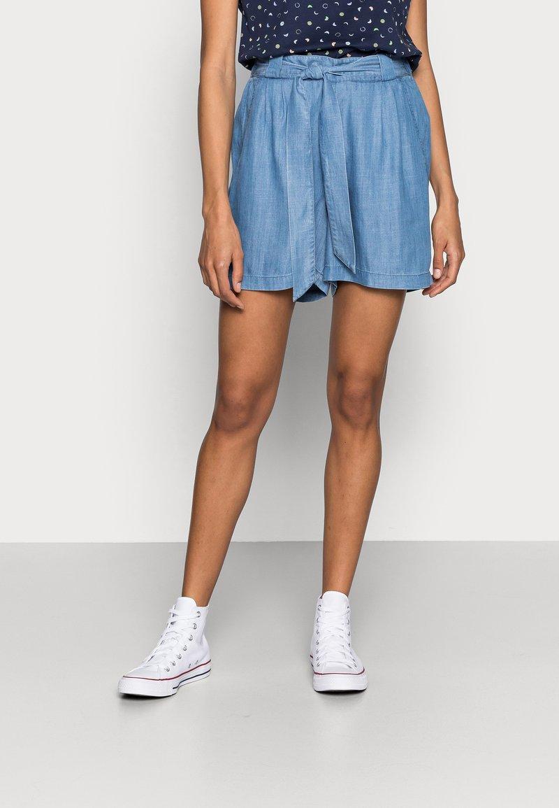 Esprit - Shorts - blue medium wash