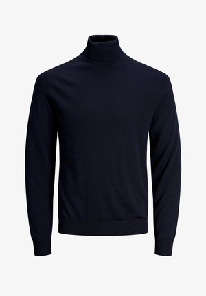 JJMARK ROLL NECK - Trui - maritime blue