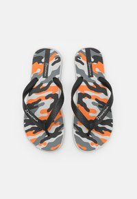 Ipanema - CLASSIC IX KIDS - Pool shoes - grey/black/orange - 3
