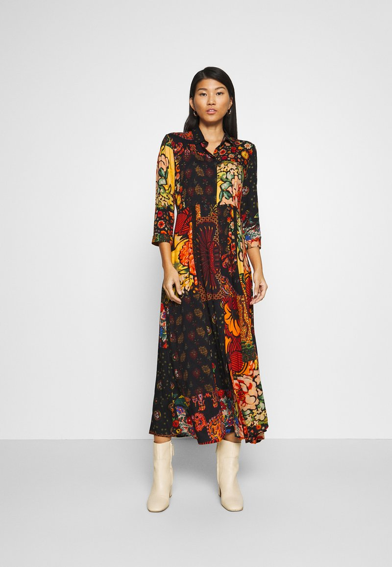 Desigual - TURIN DESIGNED BY CHRISTIAN LACROIX - Maxi dress - granate oscuro