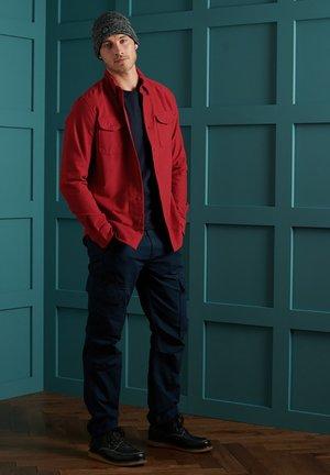 Shirt - red moleskin