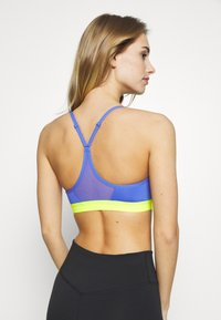 Nike Performance - INDY BRA - Sports bra - sapphire/lemon - 2