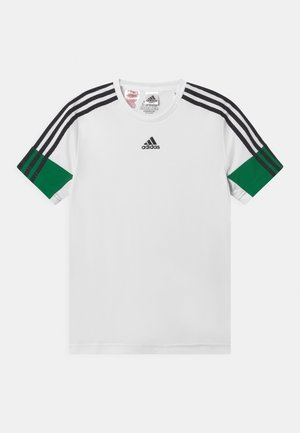 T-shirt z nadrukiem - white/black/green