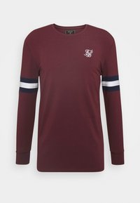 SIKSILK - TOURNAMENT TEE - Langarmshirt - wine - 3