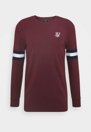 TOURNAMENT TEE - Longsleeve - wine