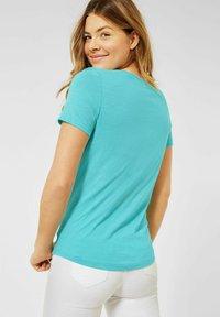Cecil - Print T-shirt - türkis - 2