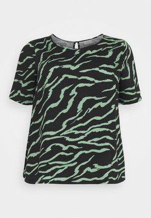 ZALA BLOUSE - T-shirts med print - black