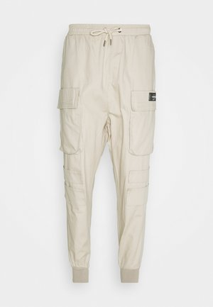 NEW PANTS - Cargobukse - beige