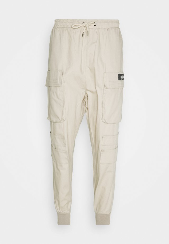 NEW PANTS - Cargobukser - beige