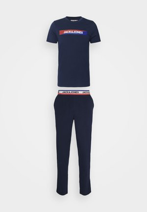 JACSIMON LONG PANTS SET - Pyjamas - maritime blue