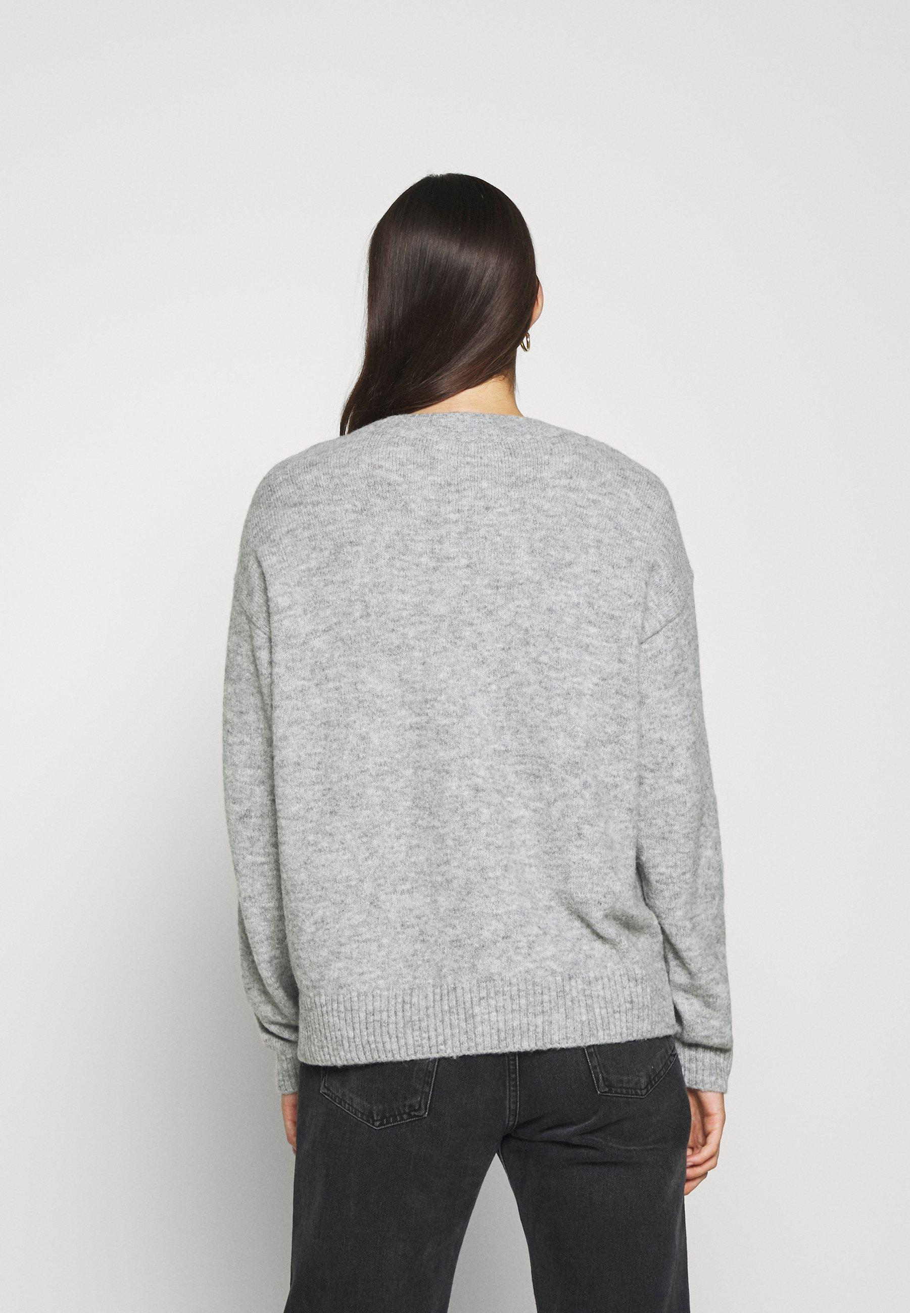 CLOSED WOMEN - Neule - light grey melange Ix8I6