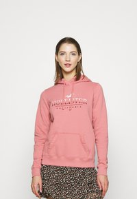 Hollister Co. - SECONDARY TECH CORE  - Hoodie - pink - 0