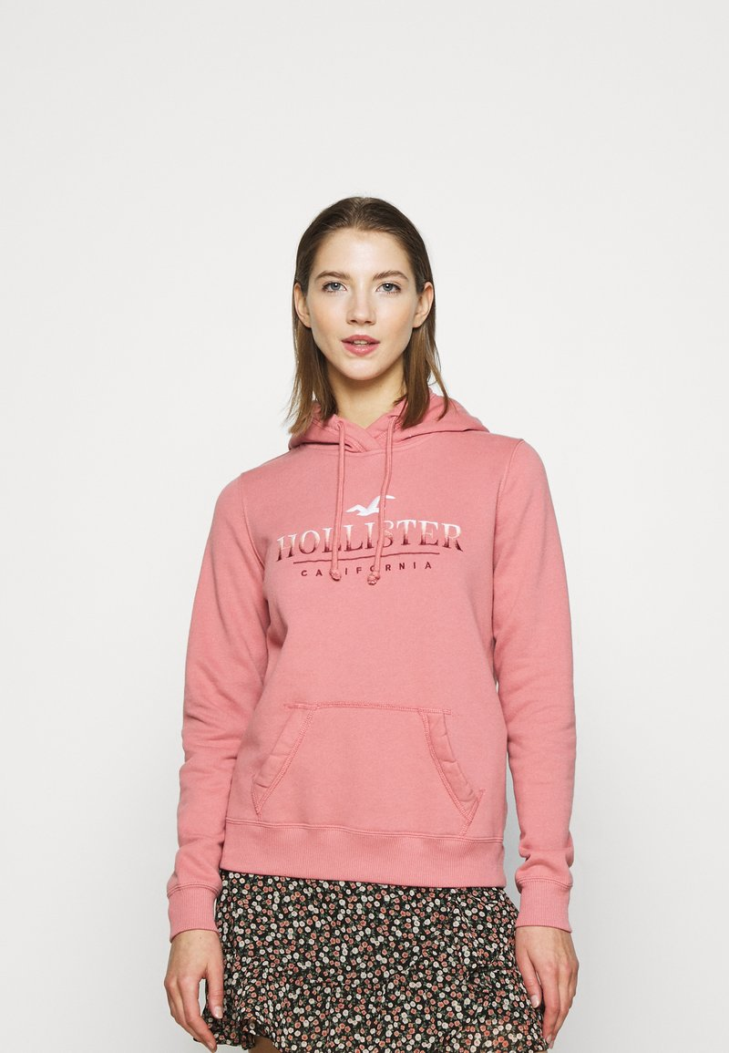 Hollister Co. - SECONDARY TECH CORE  - Hoodie - pink